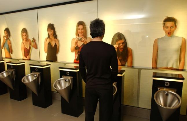 toilettes homme