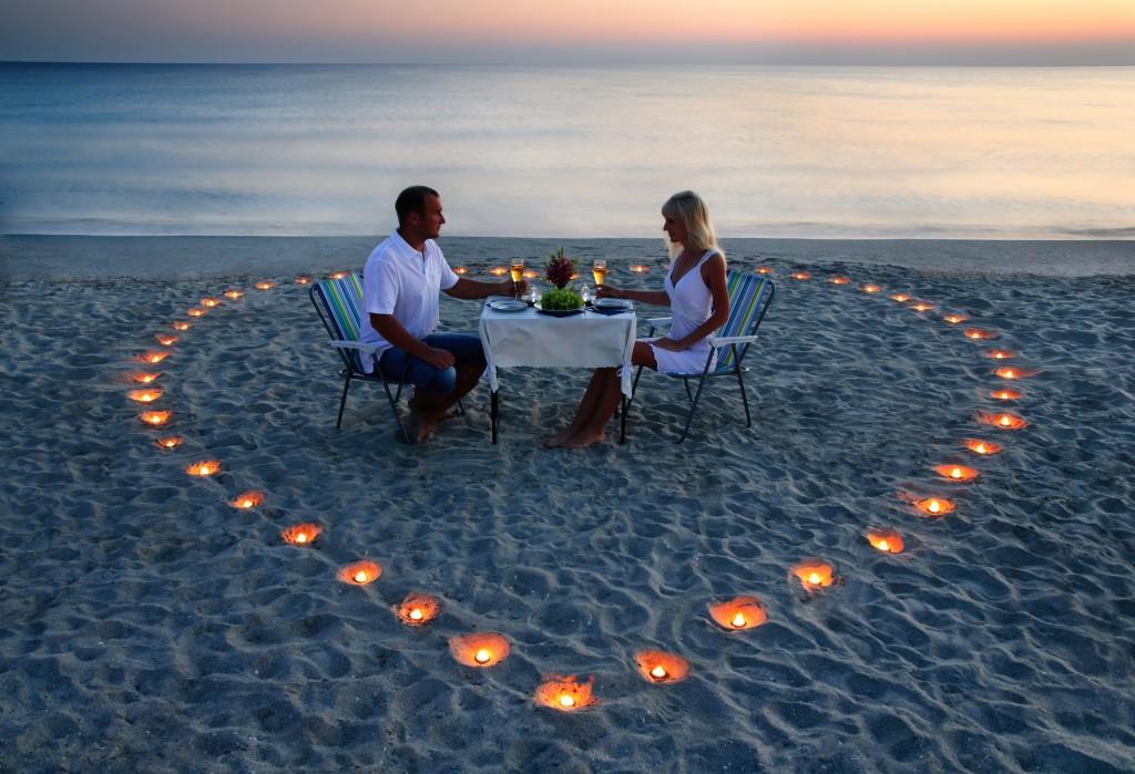 couple amour sur la plage