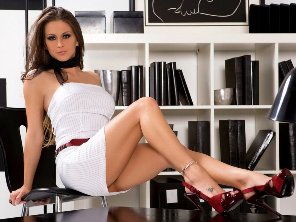 la secrétaire sexy du bureau