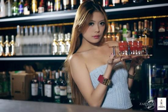 seduire une barman