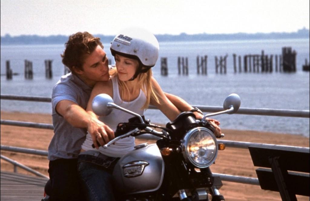 amour couple promenade moto