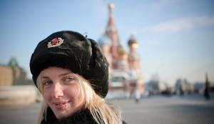 Femme à St Petersburgh