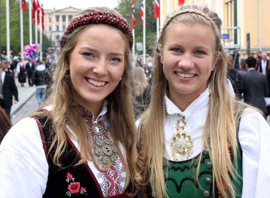 fille norvege
