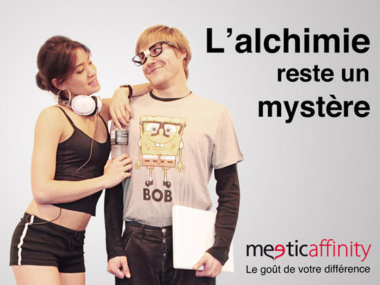 Meetic Affinity Slogan