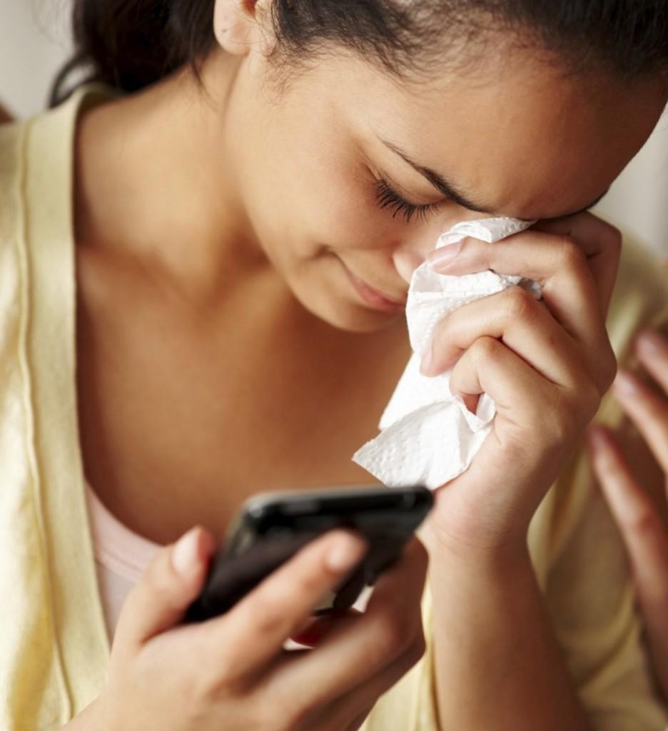 la rupture par SMS