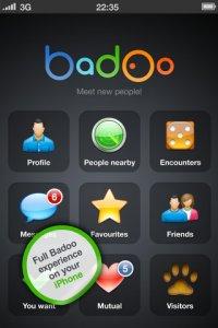 Badoo application