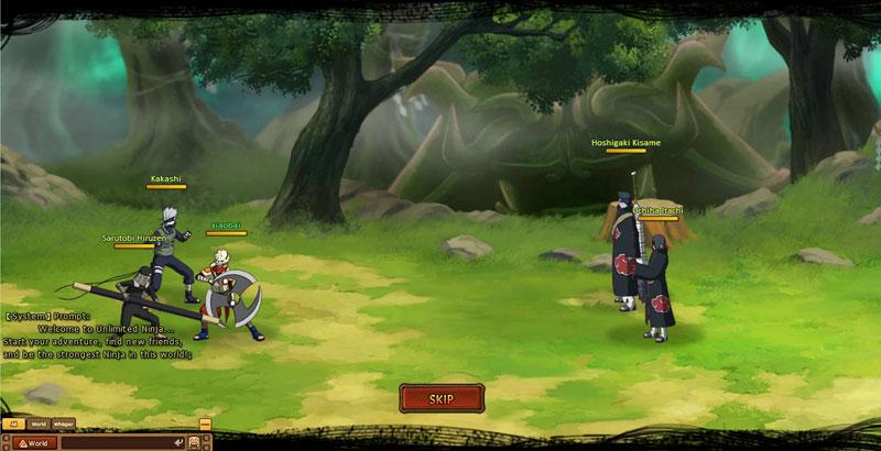 combat naruto my ninja