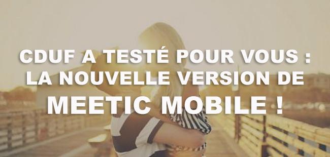 test et avis meetic mobile