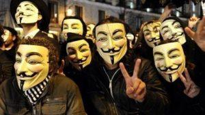 photo de groupe anonyme pour profil