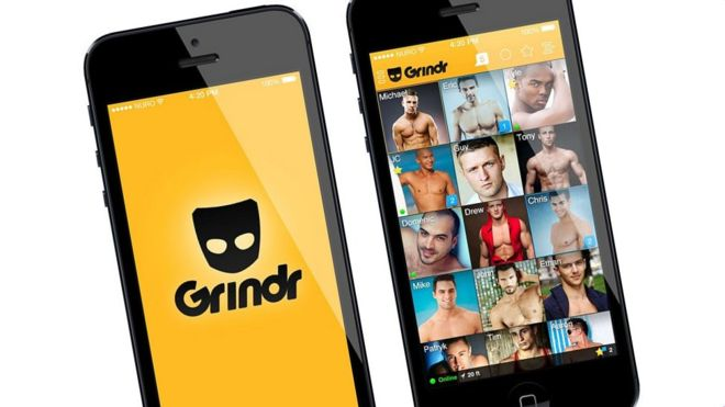 grindr mobile application gay