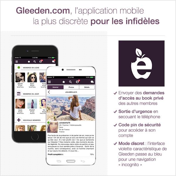 gleeden mobile promo