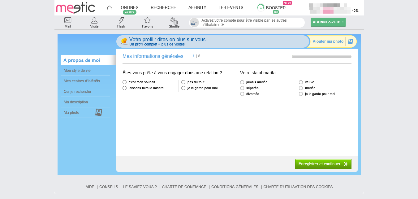 meetic gay question
