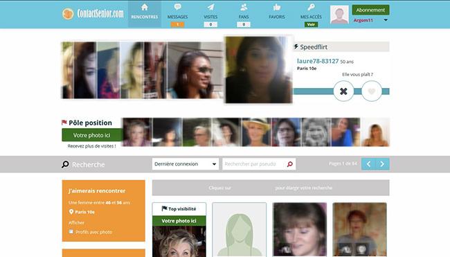 contact senior interface